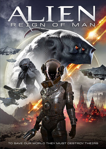 Alien Reign of Man (2017) 720p WEBRip x264 ESubs [Dual Audio][Hindi+English]