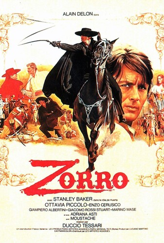 Zorro (1975) 720p BluRay x264 ESubs [Dual Audio][Hindi+English]