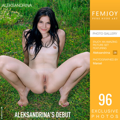Aleksandrina in Aleksandrinas Debut (2021-05-09)